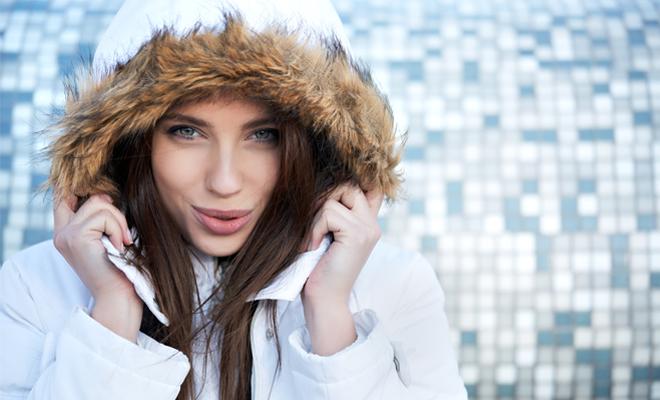 حماية البشرة من البرد
